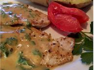 Turkey Breast Fillets With Dijon Mustard Sauce