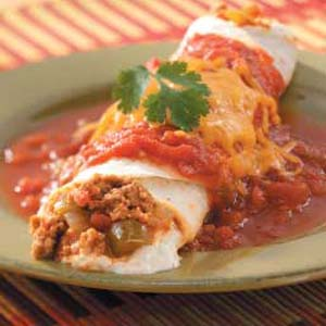 turkey cheese enchiladas