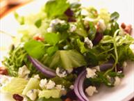 watercress blue cheese salad