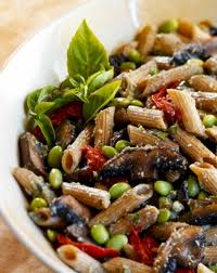 Image of Whole Wheat Penne With Edamame Pesto, Gourmet Sleuth