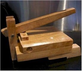 mesquite tortilla press