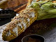 Fire Grilled Corn On The Cob