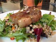 Lamb Chop With Farro Salad