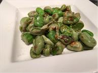 Pan Roasted Fava Beans