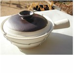 single handle clay pot