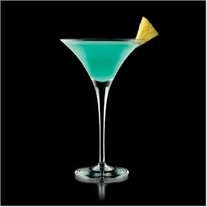 Deep Blue Funk Cocktail