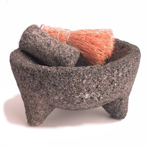 common rough stone molcajete