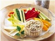 Boursin Cheese Dip with Fresh Vegetables