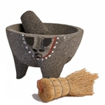 molcajete smooth basalt pig 4+ cups